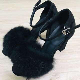 🚚 Marjorie毛毛高跟鞋
