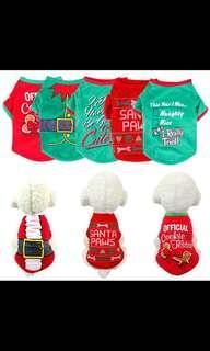 SALE! Pet Christmas costume, dog/cat/small animal