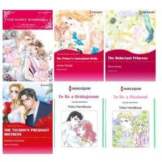 Paket Ebook Komik Harlequin English 45