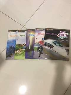 P3 and 4 science textbooks