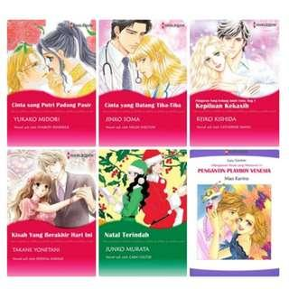 Paket Ebook Komik Harlequin Terjemahan 56