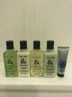 L'OCCITANE 5 pcs travel set