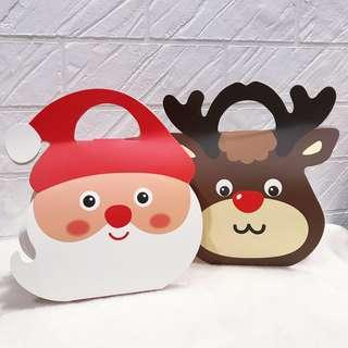 [10 pcs] Christmas Santa Reindeer goodie bag