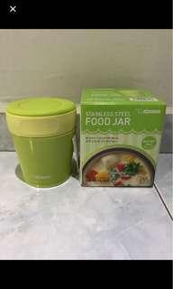 BNIB 260ml Zojirushi Stainless Steel Food Jar