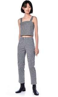 the editor's market kevyn high waisted pants