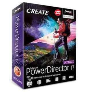 DVD Cyberlink Power Director 17 (Pirate)