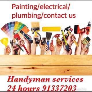 Painting/electrical/plumbing & Handyman Services 91337203
