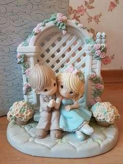Precious Moments Figurine - I'm forever by your side