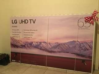 65 inch LG 4K Smart TV - Brand New