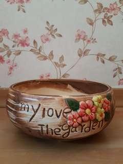 Love Garden Succulent Pot/ Planter