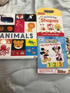 Take all 3 Childrens Educational Books - Like new condition