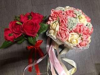 婚後物資 結婚 花球