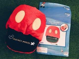 Mickey Mouse Foot Warmer Cushion 米奇電熱腳墊