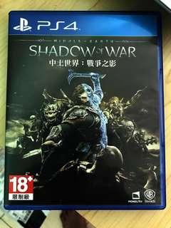 PS4 Game Middle Earth 'Shadow of War'