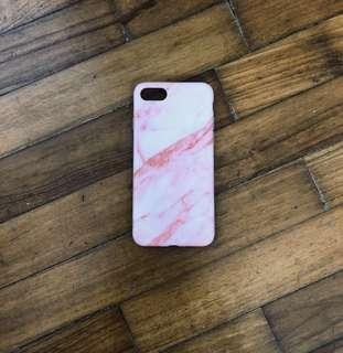 ✨ [instock] pink marble tumblr iphone case
