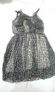 Animal Printed Summer Dress