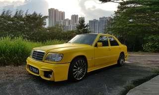 Mercedes Benz 200E W124 for rent