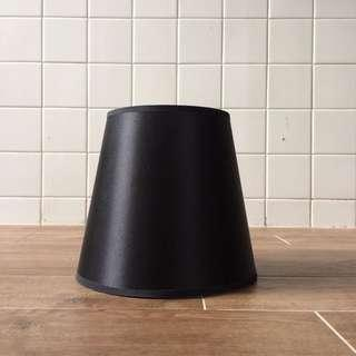 Gothic Black Satin Lampshade