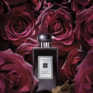 Parfum original Jo Malone preloved Velvet rose & Oud 100ml
