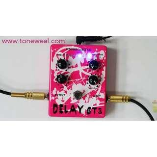 Toneweal guitar effect pedal GT3 - Delay