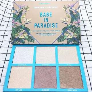 Highlighter morphee x bretman - babe in paradise