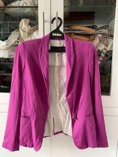Zara Purple Blazer