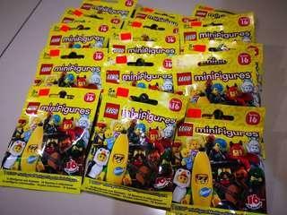 LEGO Minifigures Series 16 Loose packs