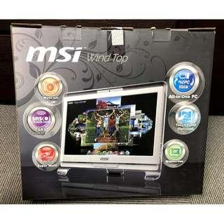 "微星 MSI AE1900 B+ All in One 19"" 桌上型電腦"