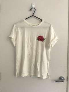 T shirt size 8