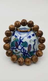 🌿 Natural Agarwood Bracelet Half Sink 🍂Malinau 🌿沉香静舍🌿