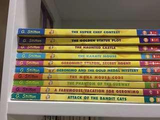 Geronimo Stilton books 📚