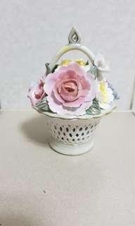 Small Porcelain Flower Vase Decoration