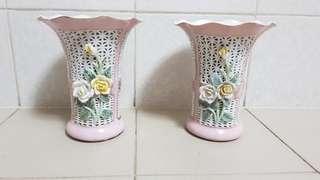 Porcelain Flower Vases