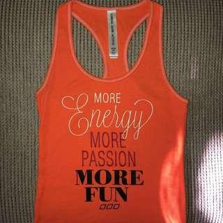 Lorna Jane quote tank size XS.