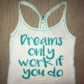 Lorna Jane quote Tank size M.