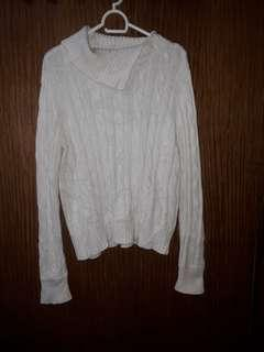 Authentic White Liz Claiborne Sweater