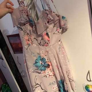 Brand new Lipsy floral dress/ unworn