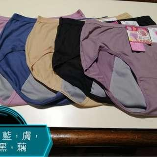🚚 【sigmanet家庭百貨】全新台灣製席艾妮貨號:8882加大尺碼安心生理褲中腰素面3XL(EQ)