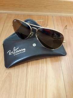🚚 [真古董收藏]Vintage B&L Ray Ban 62口14 雷朋經典款飛行員墨鏡太陽眼鏡