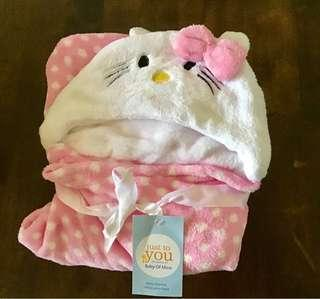 Baby Blanket (Hello Kitty design)