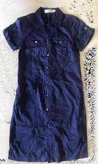 Navy Blue Dress• Calypso