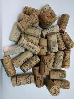 酒塞 60 個 Wine corks 60pics