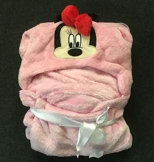 Baby Blanket (Minnie Mouse design)