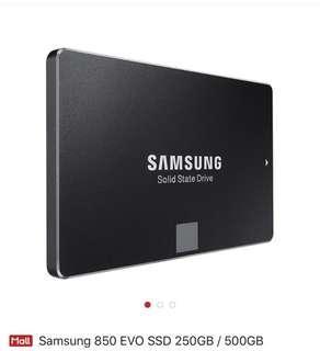 Samsung ssd 850 evo 256gb