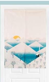 🚚 Japanese themed door curtains