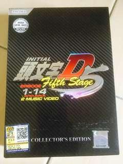 INITIAL D Five Stage (ep 1-14 end)