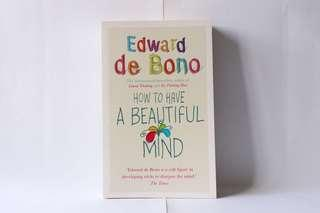 🚚 How To Have A Beautiful Mind Edward de Bono