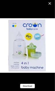 Crown babycare warmer 4 in 1