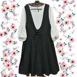 Blouse + outer dress