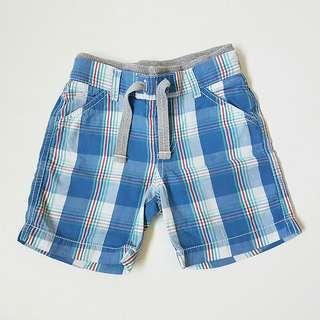 Mothercare Tartan Shorts Celana Pendek, size 18-24M